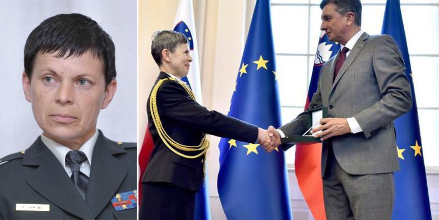Alenka Ermenc Army Cheif