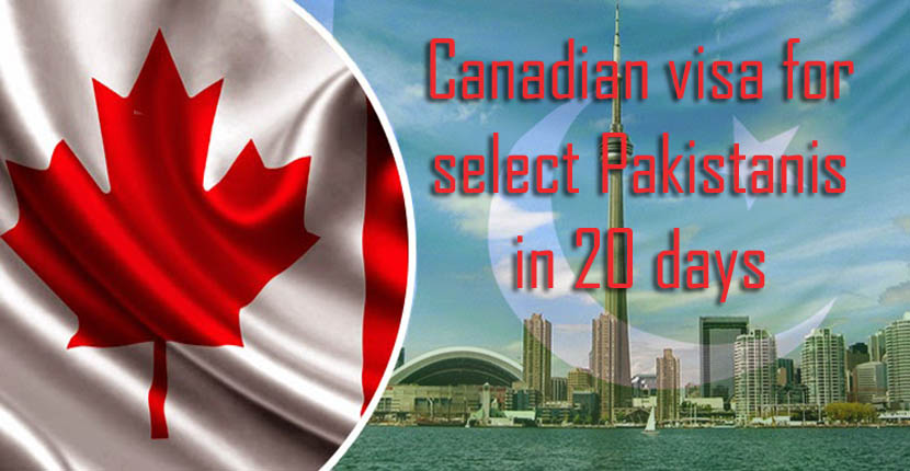 Canadian Student visa for select Pakistanis, Indians in 20 days