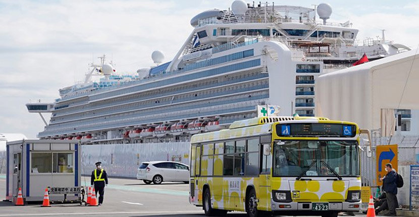 Passengers leave coronavirus cruise ship at last as Japan control efforts come under fire
