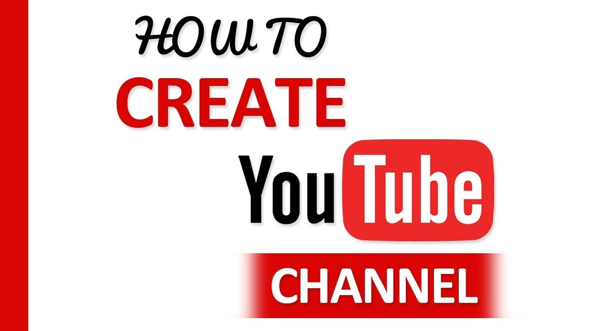 How do you create a channel on YouTube?