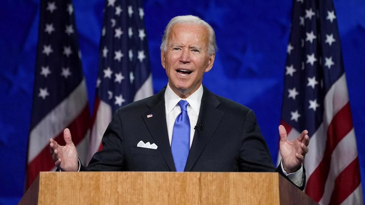 Joe Biden condemns Portland violence, says Trump recklessly encouraging it