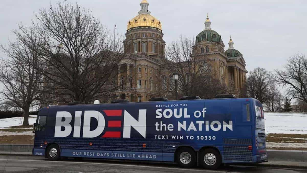 Trump supporters harassed Biden Bus were armed, operation organized on QAnon Facebook page