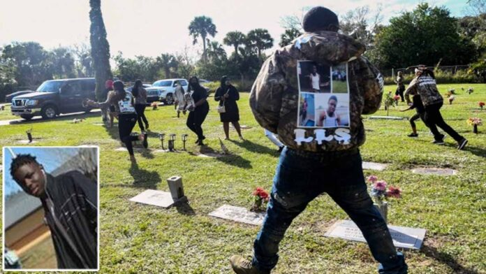 Mother of teen killed by Florida deputy is shot after gunman opens fire at son's burail