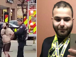 Colorado suspect's family saw him fiddling with gun
