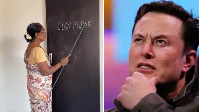 Desi teacher pronounces Elon Musk as Musk Melon